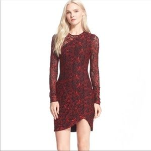 NWT Parker Illusion Lace Bodycon Dress